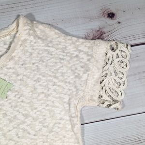 Anthropologie Dresses - NWT ANTHROPOLOGIE MTWTFSS  Ivory White Lace Dress